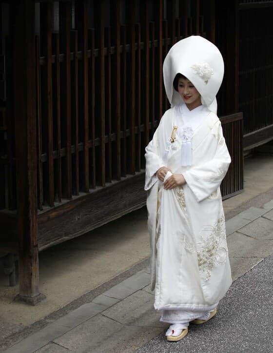白無垢は武家の最高婚礼衣裳