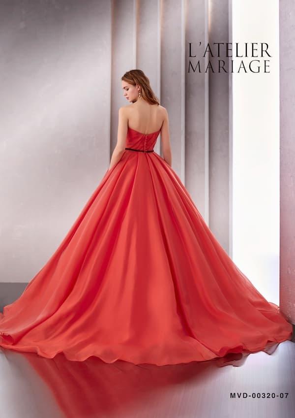 ラトリエマリアージュのカラードレス