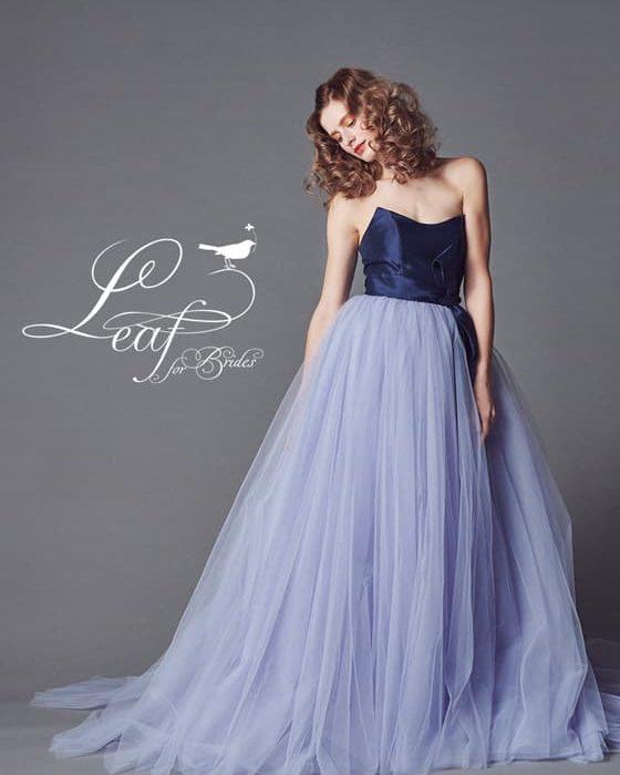 リーフフォーブライズ カラードレス