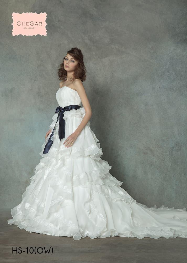 イサムモリタのウェディングドレス