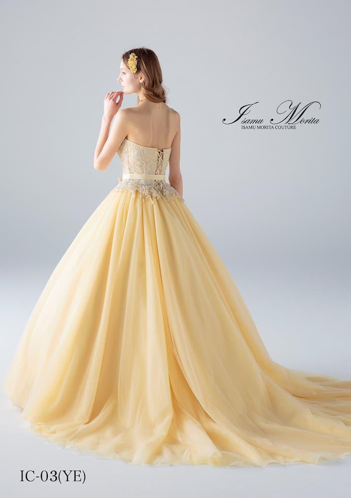 イサムモリタのカラードレス