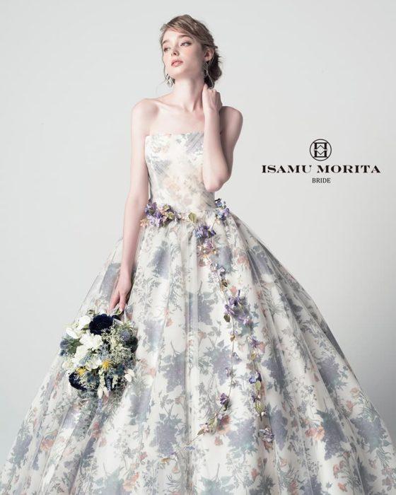 イサムモリタ カラードレス