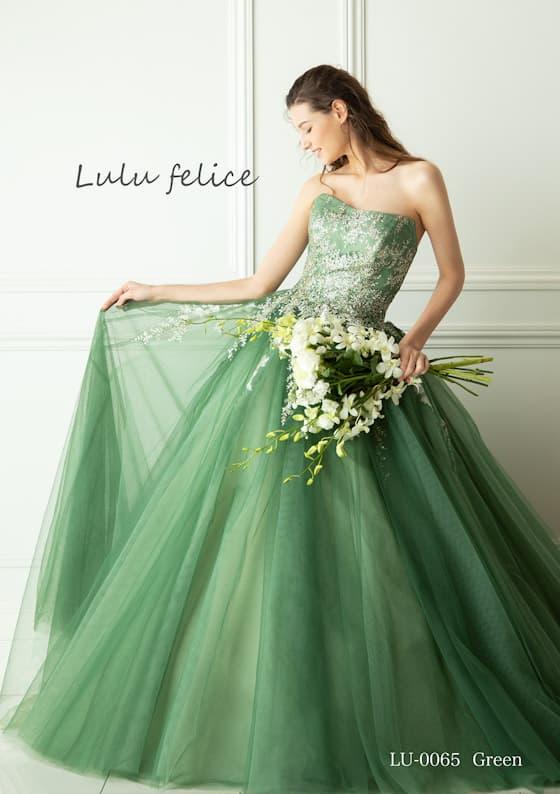 カラードレス グリーン