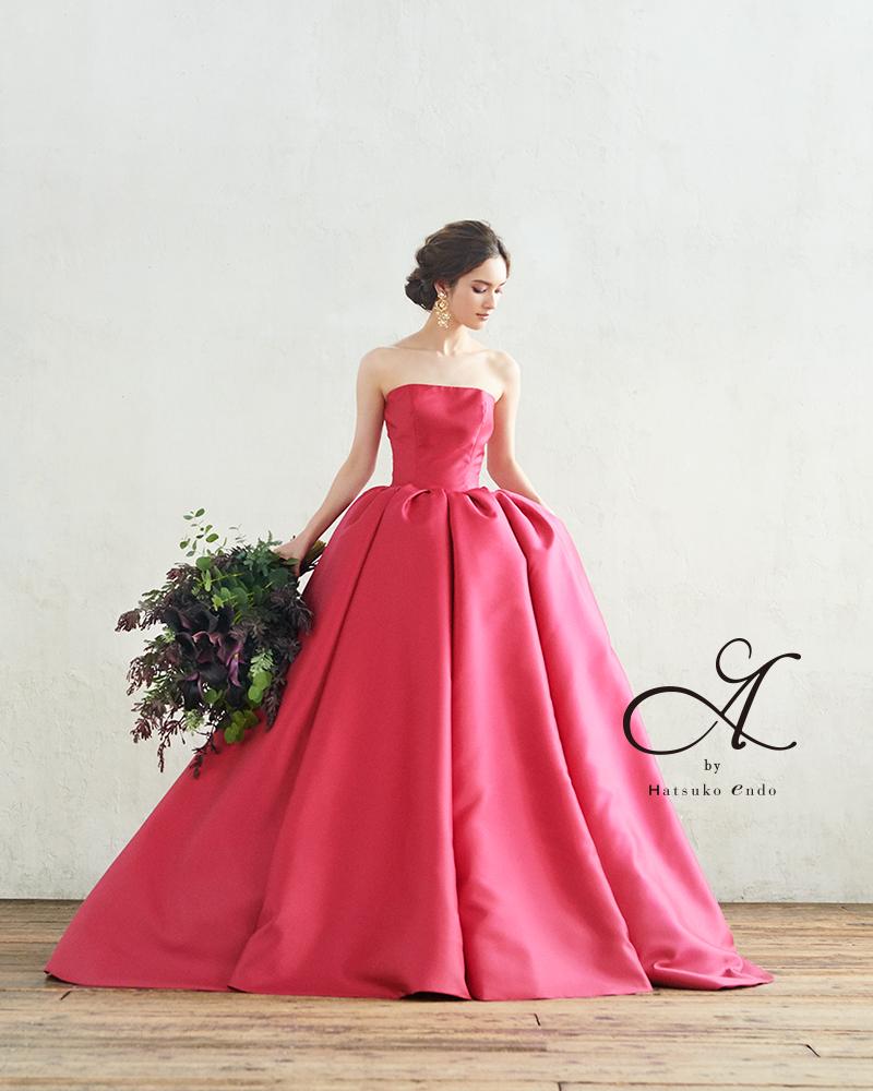 エーバイハツコエンドウ カラードレス