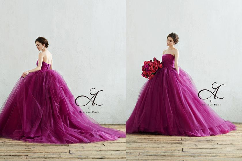 エーバイハツコエンドウ|カラードレス