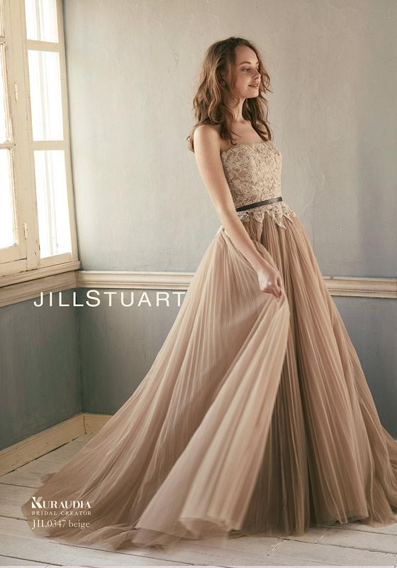 ジルスチュアートカラードレス